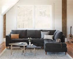 Colm Right Chaise Sectional Sectionals Scandinavian Designs - Scandinavian design sofa