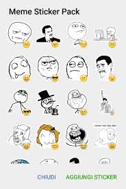 Meme Stickers - rage meme sticker pack telegram stickers hub collection
