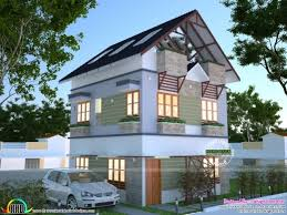 Home Design 1900 Square Feet Amazing 1900 Square Feet Residence In 6 Cent Of Land Kerala Home