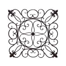 wall decor modern iron decor iron decor 111 garden wall decor dimensional wall art art the home depot