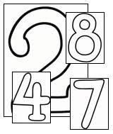 teach kids numbers printable number pages all kids network