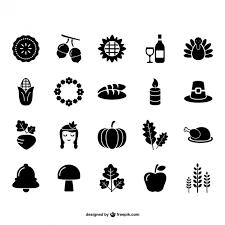 30 thanksgiving vectors free vector graphics
