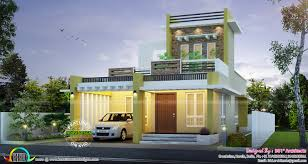 contemporary home plan by 361 architects kerala home design and