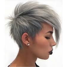 Kurze Haarschnitte 2017 by Einen Modernen Haarschnitt Grau Platin Kurze Haare