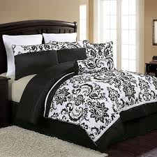 Jaclyn Smith Comforter Black And White Paisley Bedding Exotic Tastes By Paisley Bedding