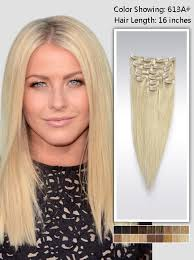 16 inch hair extensions 16 inch clip in hair extensions 95g uss613a16
