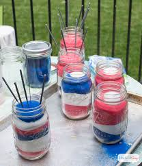 patriotic sand art mason jar decorations atta says