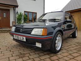 peugeot 205 used 1989 peugeot 205 gti for sale in ceredigion pistonheads