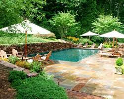backyard pool landscaping landscaping ideas for pool areas acvap homes simple pool