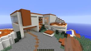 tony stark based cliff side mansion for minecraft