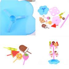 jeux de simulation de cuisine 17 pcs 1 set mini cuisine jouets jeux de simulation simulation crème