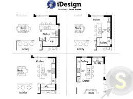 Kitchen Floorplan Kitchen Breathtaking Kitchen Floor Plans With Island And Walk In