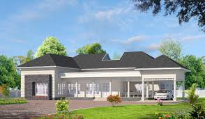 3 bhk single floor house plan front elevation of single floor house kerala also home design
