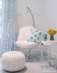 chairs for girls bedrooms bubble chair with white pillows fairfieldgrantswishes my