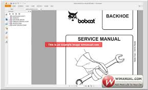 bobcat service manuals official dvd for windows os u2013 auto workshop