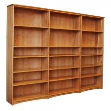 Cherry Bookcase With Glass Doors Bookcase In Solid Hardwood From Furniture
