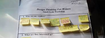 design thinking for writers first avocado