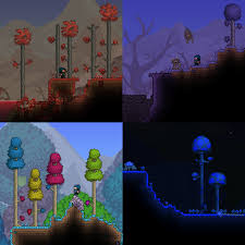 World Map Biomes by All Biomes World Templates Terraria Maps Curse