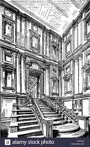 vestibule and staircase of laurentian library biblioteca medicea