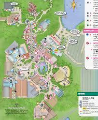 disney park maps disney s studios park map now available