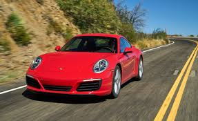 porsche red 2017 2017 porsche 911 carrera manual test u2013 review u2013 car and driver