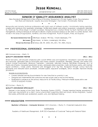 Software Test Engineer Sample Resume by Download Qa Resume Haadyaooverbayresort Com