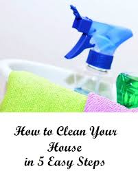 How To Clean House Fast by Cleaning Your House Probrains Org