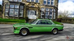 bmw e9 coupe for sale e9 coupe 1971 csl bat look 2800 cs auto taiga green