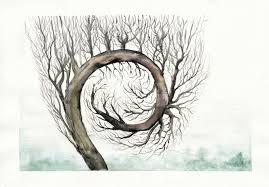 spiral tree by tistelmark on deviantart