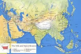 Italy Road Map by How The Silk Road Routes Through Mountains Were Formed Business