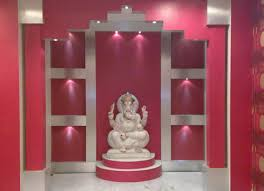 home temple interior design temple interior designing services in kolkata perspective id