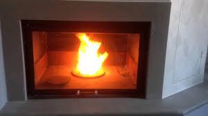 accensione camino termocamino ftl atlantis combinato legna pellet nocciolino con