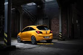 opel orange riwal888 blog new opel corsa fresh look and outstanding