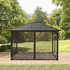 Patio Gazebo Gazebos Canopies Pergolas Sears