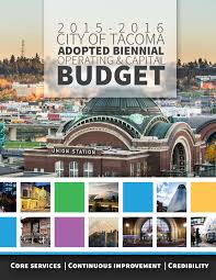 City Of North Bay Fire Recruitment by Current Budget 2015 2016 Biennium City Of Tacoma