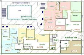 Floor Plan For Hotel Hurghada Property Apartments Hurghada Floor Plans Photos