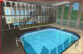 mansions with indoor pools mod the sims dreamy mansion best design