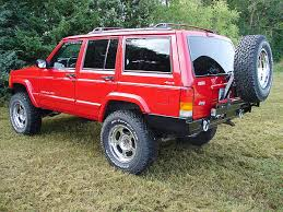 jeep cherokee back rock hard rear bumper and tire carrier jeep cherokee xj jpg