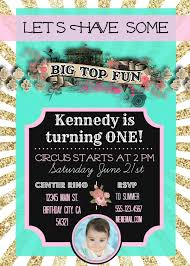 kennedy u0027s vintage circus 1st birthday party elevate everyday