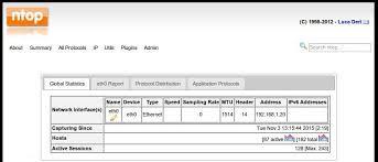 ubuntu network install tutorial install and configure ntop to monitor network in ubuntu