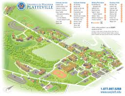 American University Campus Map Uw Platteville Campus Map Campus Life Pinterest Campus Map