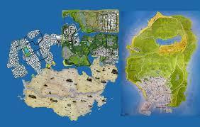 Oblivion Map Gta 5 Map Size Comparison Vs Skyrim Vs Gta 4 Vs Red Dead