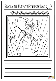 yu gi oh coloring pages to print 28 images yu gi oh coloring