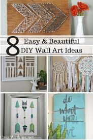fascinating diy wall art projects for home casa watkins easy and