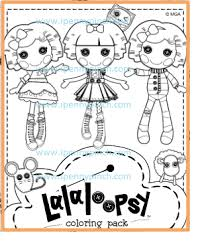 lalaloopsy free coloring pages ipennypinch