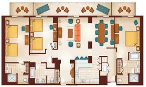 3 bedroom villas in orlando floor plan walt disney world hotels in orlando fl holiday inn