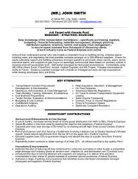 Federal Job Resume Builder by Click Here To Download This Independent Transportation Consultant