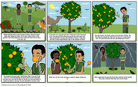 adam and eve story storyboard by queenmayad