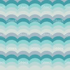 abstract background on a sea theme with decorative waves in colors