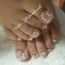 imagenes de uñas acrilicas con pedreria resultado de imagen para uñas acrilicas con pedreria para pies